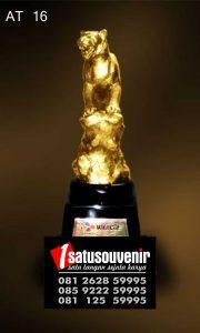 Plakat Piala Kuningan Wild Cat | Plakat Penghargaan | Contoh Plakat Unik
