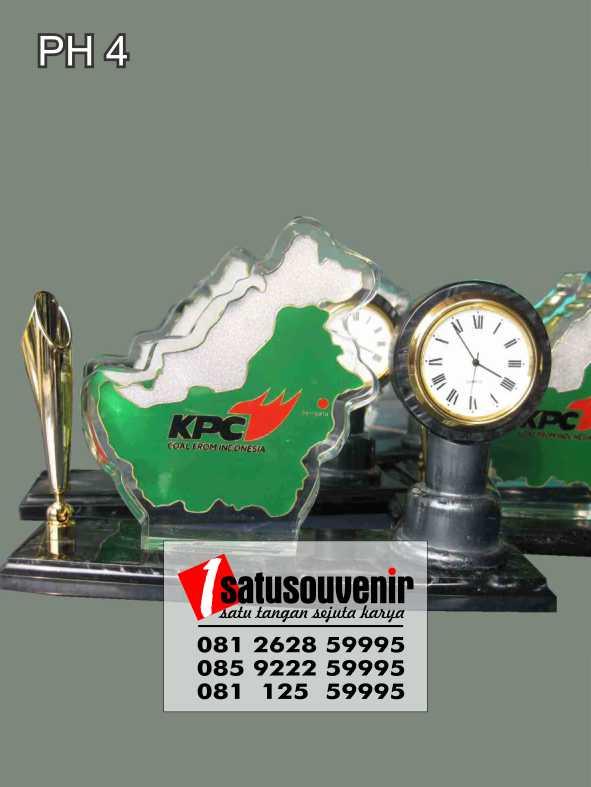 Pen Desk Clock KPC | Plakat Jam Meja