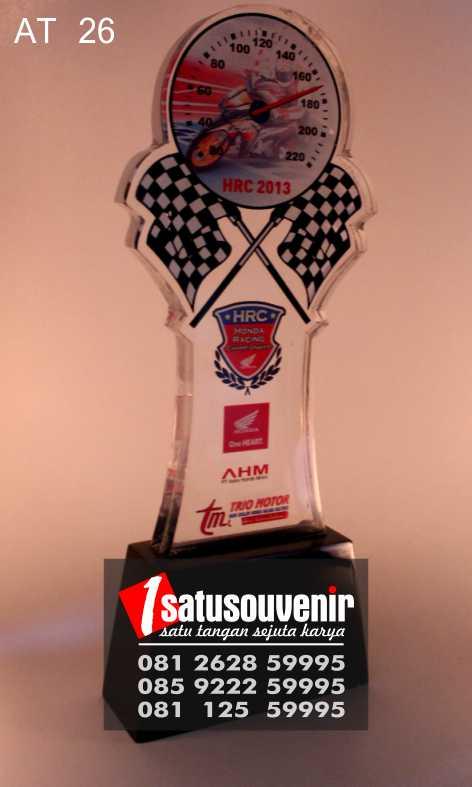 Plakat Trophy kejuaraan | Plakat Juara HRC 2013