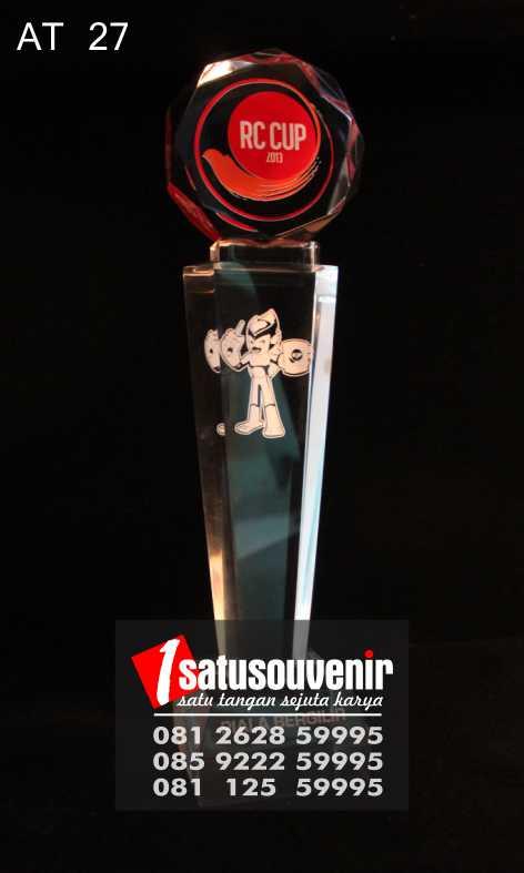 Plakat Trophy RC CUP | Plakat Akrilik Trophy | Plakat Trophy Murah