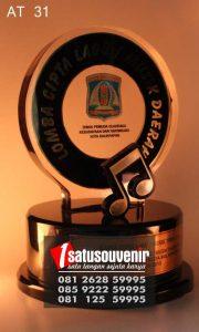 Plakat Penghargaan | Trophy Juara Lomba Cipta Lagu Musik Daerah