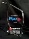 Plakat Akrilik PKPU | Plakat Akrilik Penghargaan | Plakat Murah