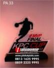 Plakat Akrilik KPC Cup Eksklusif dan Elegan