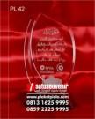 Plakat Laser Grafir PPPA Daarul Qur'an Unik & Elegan