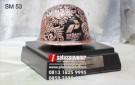 Souvenir Miniatur Helm Pertamina Hulu Energi