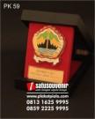 Plakat Kayu DPMPTSP Jawa Tengah