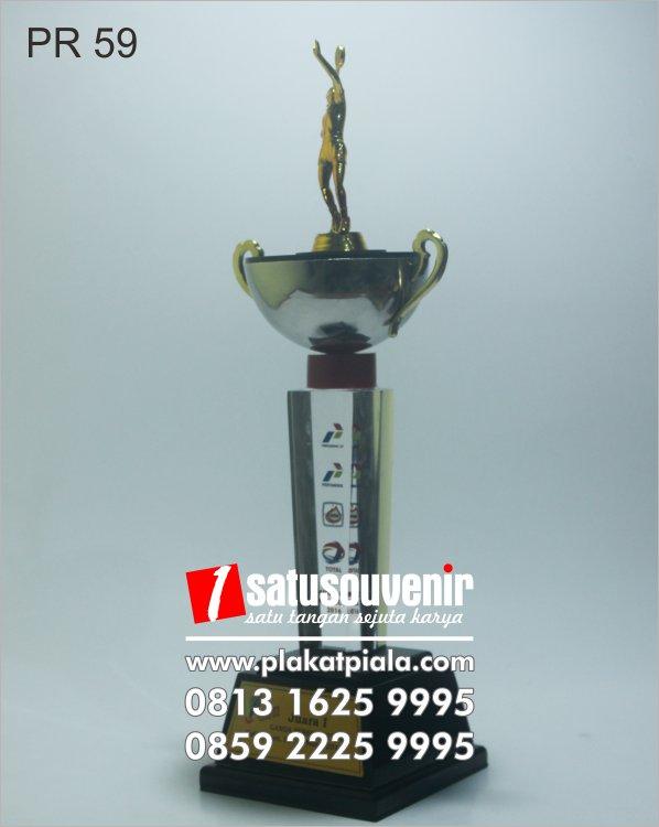 plakat resin kejuaraan piala badminton