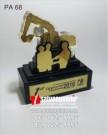 Plakat Akrilik Penghargaan Operator Teladan PAMA