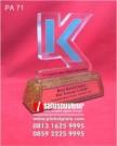 Plakat Akrilik Penghargaan PT Kubota Machinery Indonesia