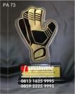 Plakat Akrilik Unik Best Goalkeeper Eksklusif
