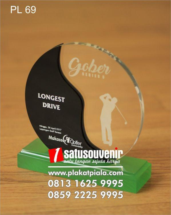 Plakat Laser Grafir Golf Gober Longest Drive