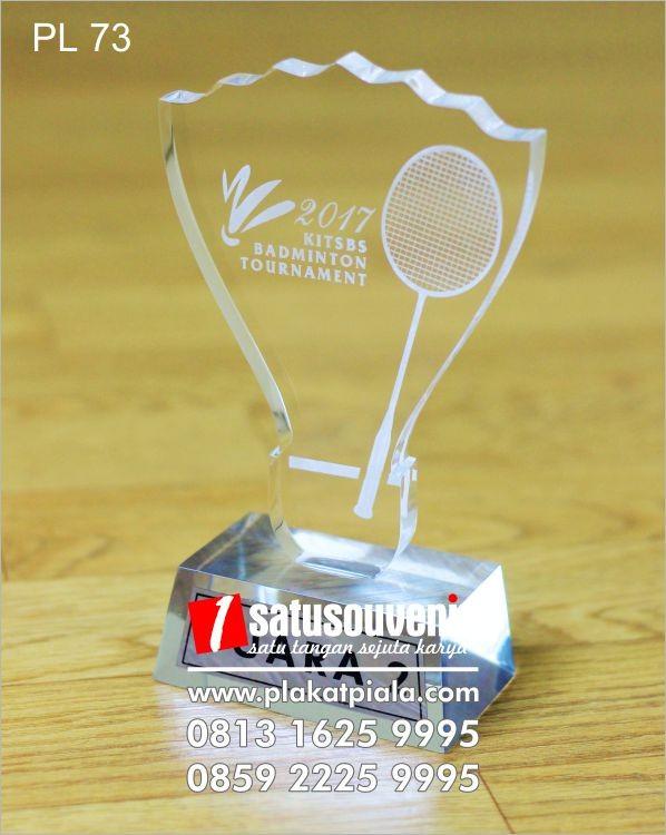 Plakat Laser Grafir Badminton Tournament