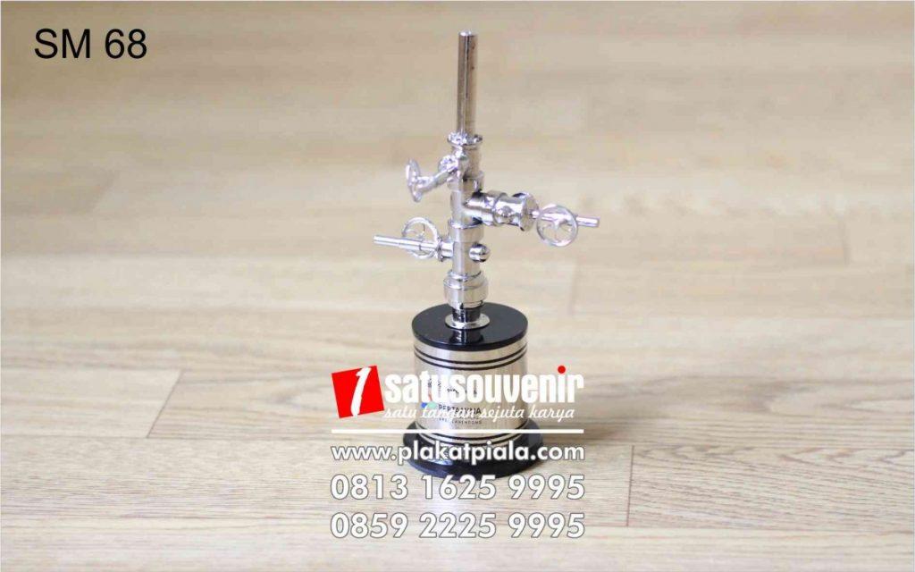 Souvenir Miniatur Pertamina