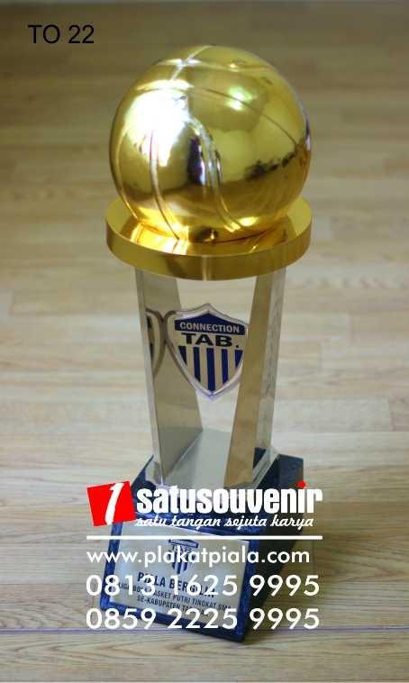 Plakat Trophy Piala Bergilir Kabupaten Tabanan