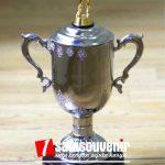 Plakat Trophy Piala Bola Voli Hari Olahraga seKalimantan Selatan