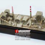 Souvenir Miniatur Pembangkit Listrik Tenaga Uap Cilacap