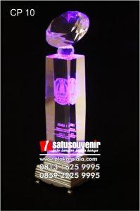 Plakat Kristal 3D Kejuaraan Lomba Eksklusif dan Elegan