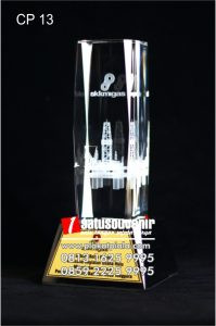 Plakat Kristal 3D Rig Offshore Crystal SKK Migas (2)