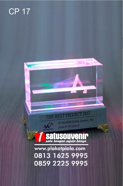 Plakat Kristal 3D Jembatan Klodran Ngawi