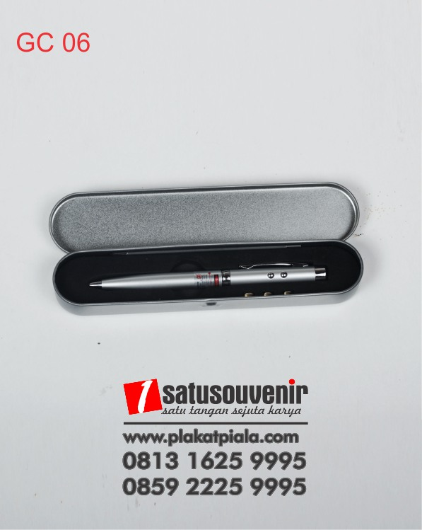 Corporate Gift Pen Laser Metal Promosi