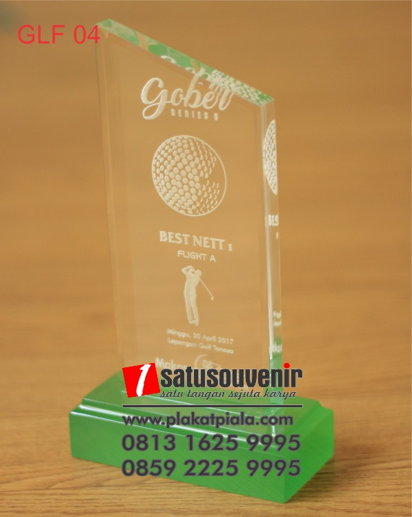 trophy golf akrilik gober